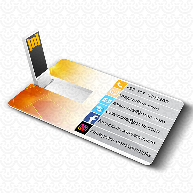 USB Vising Cards | USB Business Card | Custom Flash Wallet Drive ...